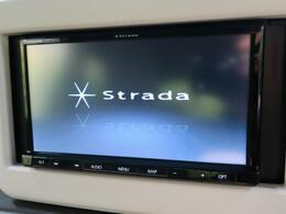 ●【ストラーダSDナビ】装備!CD再生・bluetooth接続などオーディオ環境もご満足頂ける1台です♪
