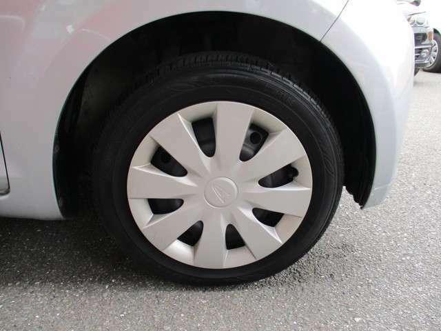 タイヤも交換してお渡しします