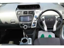 先進性が感じられる運転席まわりのデザインとなっております。