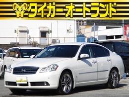 日産 フーガ 3.5 350GT スポーツパッケージ インテリキー 純正ナビ CD S Bカメラ