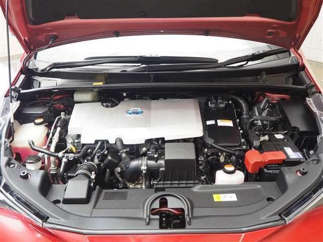 1790cc ハイブリッドエンジンです。