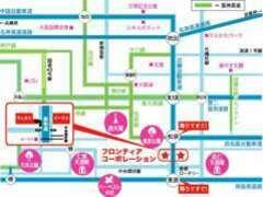 お車ならローソン駐車場に入り口があります。電車なら河内松原駅