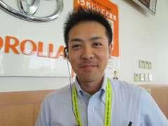 販売マネージャーの安田です。何でもお気軽にご相談下さい!!