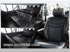 コンプリート車や内装の架装車両なども取扱い展示もしております