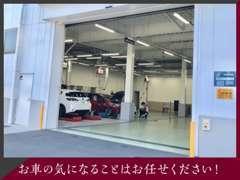 整備工場も併設しております!ご購入頂いたお車に気になる箇所が出てきたときはご連絡くださいませ。