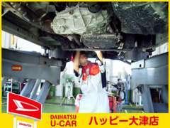 ディーラーの安心とアフターフォローでカーライフをサポート。