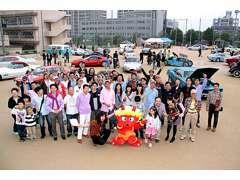 地元茨木市で開催されたIBARAKI VINTAGE CAR SHOW こういったイベントにも積極的に参加し、ユーザーと交流を図っています。