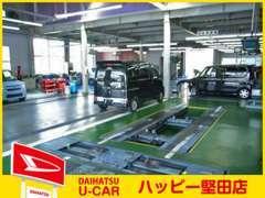 ダイハツ車の事ならもちろん、他メーカー車の車検や整備・メンテナンスも安心して当店へお任せくださいませ!!