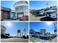 雨の日でも安心の屋内展示場完備!!見て、触って、体感!店内イベントも盛りだくさん!埼玉県、クルマのテーマパーク!