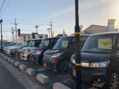 ★☆展示場☆★厳選させていただいたお車を展示しています。