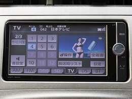 ☆純正ナビ☆フルセグTV・SD・CD/DVD再生・AM/FMラジオ・Bluetooth対応!
