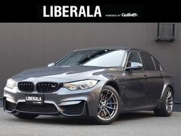 BMW M3セダン M DCT ドライブロジック 1オーナー.黒革.全席シートヒーター
