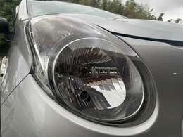 ☆ヘッドライトは黄ばみが無く良好なコンディションを保っています。