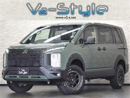 三菱 デリカD:5 2.2 G ディーゼルターボ 4WD 両側電動S JAOSオ-バ-フェンダ-  リフトUP