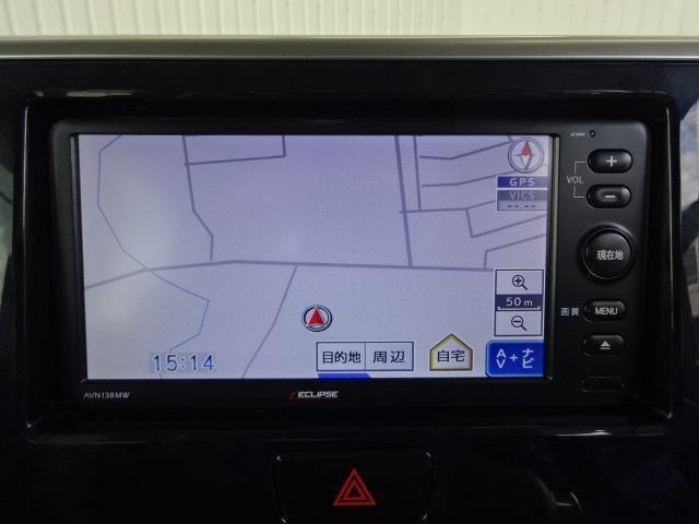 ドライブやレジャーのマストアイテム!快適なドライブをサポートする社外メモリーナビ&ワンセグTV装着!