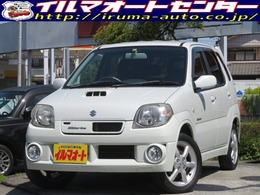 スズキ Kei 660 ワークス 4WD 5速MTターボ 純正エアロ&レカロシート付