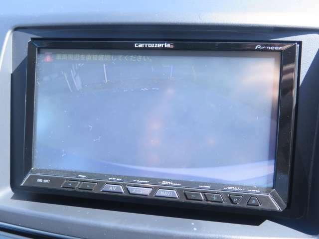 カロッツェリア製HDDナビ装備♪CD・DVD再生可能♪音楽録音機能付き♪フルセグ視聴可♪Bluetoothオーディオ対応♪バックカメラ付♪