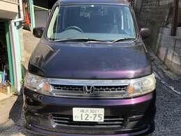 独特の紫が格好良いステップワゴンスパーダ。
