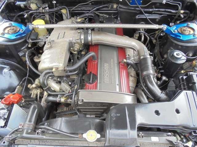 RB20DETエンジン!セラミック・ターボ!エンジンルームも綺麗です!