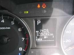走行距離はおよそ79.300km