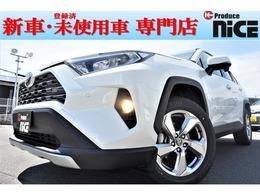 トヨタ RAV4 2.0 G 4WD 新車 ソナー レザー Bカメラ 衝突軽減 LED