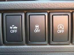 燃費向上と環境保全を考えた「アイドリングストップ」と、衝突安全軽減システム「レーダーブレーキ」が付いています。万が一に備えた安全装備ですね。良い機能ですね!