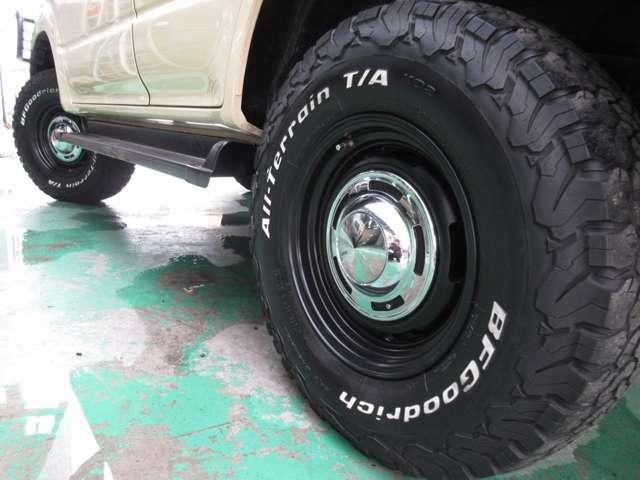 DEENのクロスカントリー16インチAWにBFグッドリッチ製ATタイヤを装着☆
