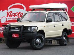 トヨタ ランドクルーザープラド 2.7 TX リミテッド 4WD リフトUP 社外AW Gガード テント ナビ