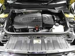 BMW製2.0L直列4気筒クリーンディーゼルエンジン。143PS/305Nm(カタログ値)