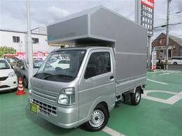 スズキ キャリイ 660 KCエアコン・パワステ 3方開 軽トラックキャンピングカー