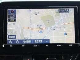 Y68Tトヨタ純正9インチSDナビ!TVはフルセグ視聴可能!ブルートゥースオーディオ、DVD再生出来ます!