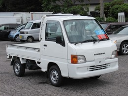 スバル サンバートラック 660 JA 3方開 4WD エアコン・作業灯・5速マニュアル