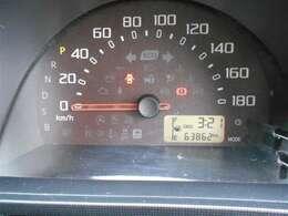 走行距離63862キロです