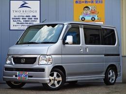 ホンダ バモス 660 M 4WD 5速MT ETC アルミホイール 走行3.8万Km