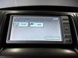 CD/DVD再生機能付き。音楽を聴きながらのドライブは楽しいですよね~♪