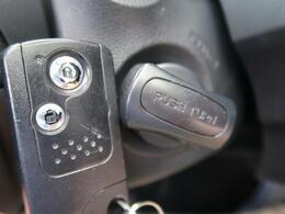 ●スマートキー装備でエンジン始動やドア施錠もカギの差込不要でラクラクです☆