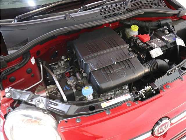1.2L直列4気筒エンジン!スムーズな吹け上がりなので、音も静かでストレスなく運転できます!