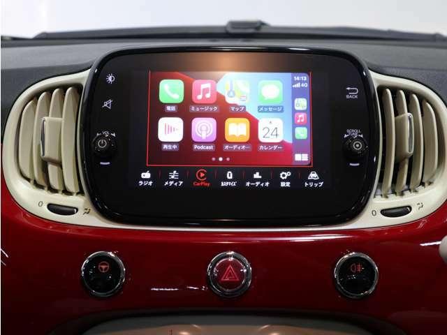 Apple Car Play / Android Auto対応で画面ミラーリング可能!ナビアプリを起動すればカーナビの様に使えます!