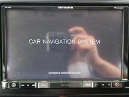 8インチモニターでDVD再生も可能です☆快適で楽しいドライビングを実現します♪