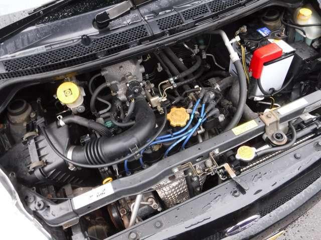 エンジンの掛かりや調子もおっけーです。