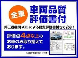 第三者機関に依頼してしっかりと車の状態を見て安心だと保証されたお車だけを在庫しておりますので安心してください!(