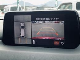 【カーナビ】360°ビュー・モニター