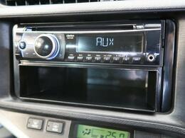 CDオーディオ☆CD・ラジオの再生が可能です☆ナビへのお取替えもご相談ください!
