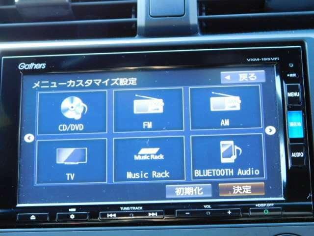 bluetooth 地デジフルセグ DVD再生 SD録音 SD再生 USB 使用可能です。IPHONの方はアップルカープレイで携帯画面をそのまま映し出し操作できます。