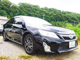 トヨタ カムリハイブリッド 2.5 Gパッケージ 車検整備6ヶ月保証HDDナビ地デジBカメラ