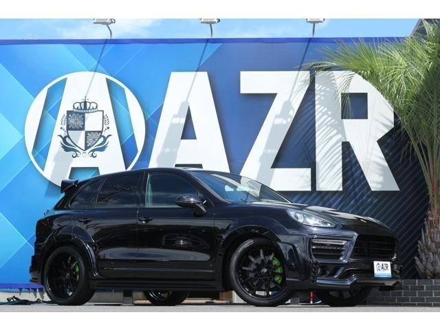 2015y ポルシェカイエン ZERODESIGNエアロ SKYFORGEDホイール ローダウン(H&R) コーナーセンサー 電動バックドア ターボエンブレム 正規ディーラー車 入庫しました!