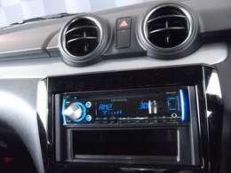 CD付きです。お好きな音楽でドライブをお楽しみください♪