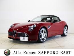アルファ ロメオ 8Cスパイダー 500LIMITED EDITION 赤レザーシート・ETC・キセノン・限定車