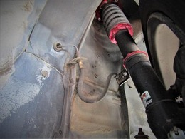 足回りにはブリッツ ZZ-R車高調を装備☆■車高変更量:F:-75~-30mm R:-50~0mm■アッパー:F:調整式ピロ R:強化ゴム■バネレート:F:8.0kgf/mm R:6.0kgf/mm