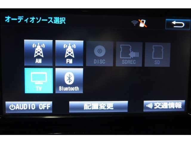 ナビ装備でとってもお買い得ですよ☆快適なドライブをお楽しみ下さい。ナビ フルセグTV ETC DVD 保証1年 プッシュスタート Bluetooth  アルミホイール